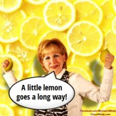 A little lemon goes a long way