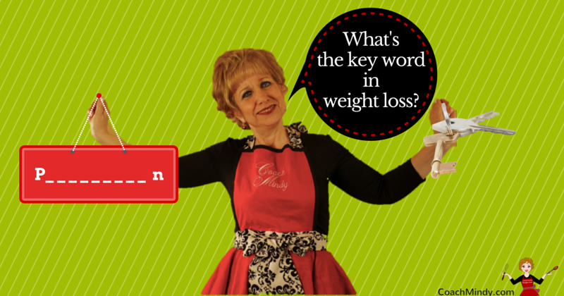 What's The Key Word In Weight Loss?