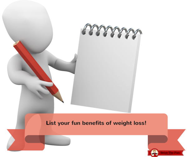 list your fun benefits of weight loss