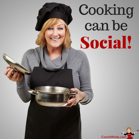 Cooking can be social!