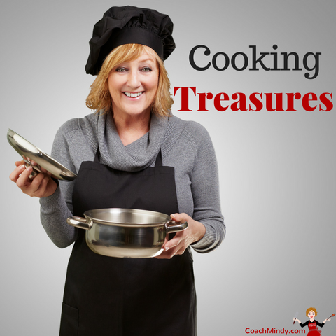 Search for cooking treasures.