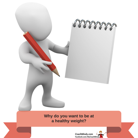 why do you want to be at a healthy weight